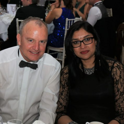 IMQS President Brendan Morris and Deshnee Naidoo, CEO of Vendanta Zinc International