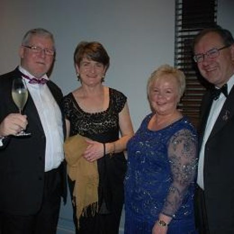 Pat & Mary Griffin, Eileen & David Johnston
